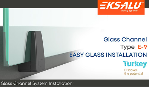 Glass Channel System Installation