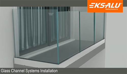 Glass Channel Systems Installation 1