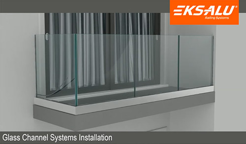 Glass Channel Systems Installation 3
