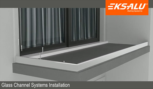 Glass Channel Systems Installation 5