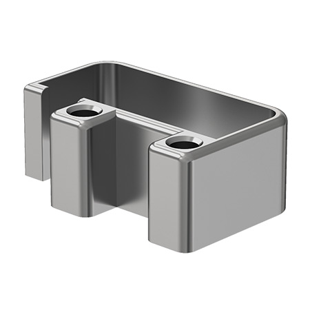 25x60 4 Holed Wall Flange Cover