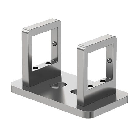 40x40 Square Strut Profile Sideways Special Interconnection Joint